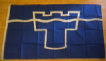 Tyne and Wear Large County Flag - 5' x 3'.